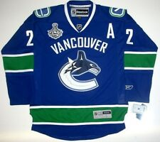DANIEL SEDIN VANCOUVER CANUCKS STANLEY CUP JERSEY '11