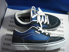 "NIB VANS ""BEARCAT"" SKATE ATHLETIC SHOES NAVY BLUE SZ 6"