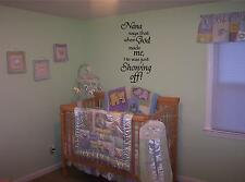 NANA SAYS WALL QUOTE - WALL ART STICKERS - VINYL ART DECALS