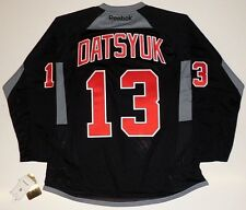 PAVEL DATSYUK DETROIT RED WINGS BLACK REEBOK JERSEY
