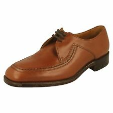 MENS LOAKES TAN LEATHER LACE UP SHOE (FONTWELL)
