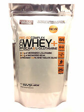 5lb 100% WHEY PROTEIN PRO ISOLATE COMPLEX + L-GLUTAMINE + INSTANTIZED BCAA