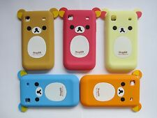 ★★★ SUPER CUTE BEAR RUBBER SILICONE CASE COVER ★★ SAMSUNG GALAXY S I9000 T959 ★★