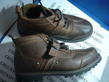 "NIB $99  dockers ""tovar""  LEATHER CASUAL/DRESS BOOTS SHOES light tan"