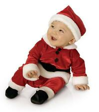 Infant Toddler Velvet Santa Claus Costume Halloween
