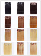 """One * 20"""" Remy Human Hair Clip In Extensions 8pcs & 100g, 18 colors available"""