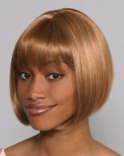 DENISE WIG BLACK BROWN BLONDE AUBURN WOMAN SHORT STRAIGHT BOB HAIR CHINA DOLL