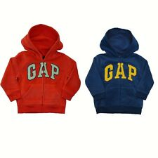 New baby Gap Authentic Boys Girls Fleece Arch Logo Hoodie Sweater Jacket 2 - 5y