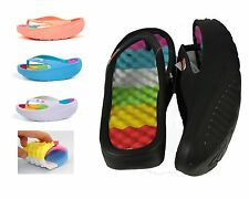 Womens Thong flipflops massage High Wedge heel Platform Slippers