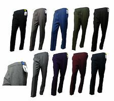 Ladies Trouser with pockets Half Elasticated 8 Sizes 2 Leg Lengths 12 colours