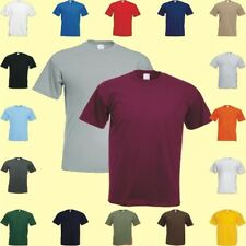 Herren  T-Shirt Fruit of the Loom  S -  3XL Super schwere premium Qualität