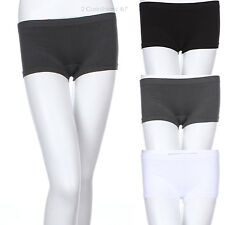 Seamless Sexy Micro Mini Booty Shorts Hot Pants Stretch Athletic Legging S/M M/L