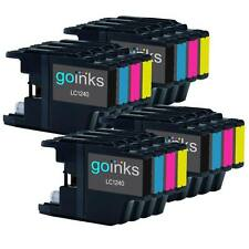 16 Ink Cartridges to replace Brother LC1240 (Bk/C/M/Y) Compatible for Printers