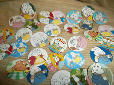 Pre Cut RABBIT BUNNY CARTOON One Inch Bottle Cap Images!