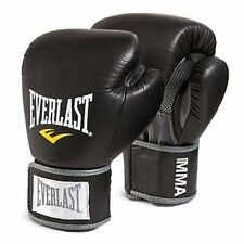 Everlast Boxing MMA Leather Gloves Thai Style 10 oz,12 oz,14 oz, 16 oz