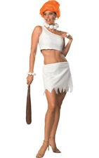 LICENSED SEXY WILMA FLINTSTONE WOMENS DELUXE ADULT FANCY DRESS UP COSTUME
