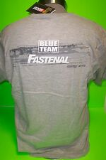 2012 CARL EDWARDS #99 FASTENAL GREY BLUR NASCAR TEE SHIRTS