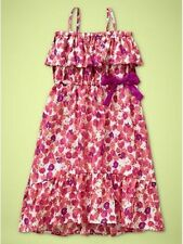 NWT Baby GAP Off Shoulder Ruffle Floral Dress Spaghetti Straps NEW Pink Floral