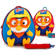 PORORO Safety Harness Backpack for Toddler/Birthday gift for kids&baby blue/pink