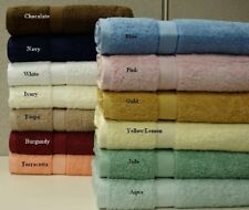 Oversized Solid Terry Bath sheets Towel 100% Egyptian Cotton All Colors