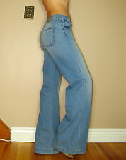 $178 Seven 7 For All Mankind Trouser Jeans High Rise Wide Leg Light 26,28 NWT