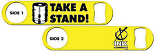 Bartender Bottle Opener: Take a Stand + Add Name or Text FREE!