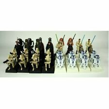 Star Wars Episode 1 Chess Set Pieces (R2D2,Nute, King, Pawn, Bishop, Rune )