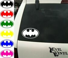 Batman Decal Car Window Bat Symbol Joker Comic Marvel DC Laptop Sticker ANY SIZE