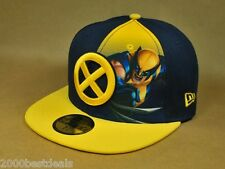 NEW ERA 59FIFTY CAP WOLVERINE NAVY GOLD PANEL SUB OFFICIAL CUSTOM FITTED HAT