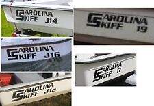 Carolina Skiff Decals decal sticker graphics stickers Boat logo