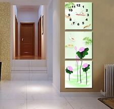 Lotus & Gold fish Chinese Painting Decorative Canvas Print Set High quality