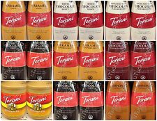 Torani Flavored Syrup Sauce Topping Drink Ice Cream Smoothie 1.89 Liter Each