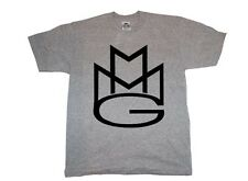 MAYBACH MUSIC T-shirt MMG Rick Ross Wale Meek Mills Stalley Omarion Grey/Black*