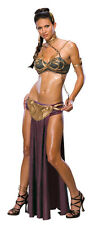 Adult Sexy Star Wars Princess Leia Slave Outfit Costume Halloween
