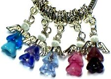 CZECH GLASS ANGEL CHARM FITS EUROPEAN BRACELETS - BUY 3 GET 1 FREE