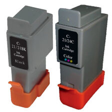 1 SET of Canon BCI21-24 Compatible Ink Cartridges (Black & Colour)