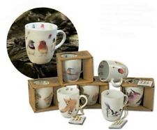 Wildlife Porcelain Mugs by Marjolein Bastin. 7 Different Designs to choose from.