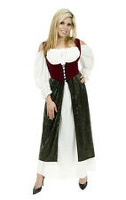ADULT WOMENS RENAISSANCE MEDIEVAL VILLAGE WENCH MAID PIRATE PEASANT COSTUMES