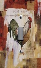 Light Switch Plate Outlet Covers AUDIT COLORFUL TUSCAN ROOSTER