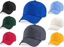 Plain Baseball Cap Hat Blue Brown Green Orange Pink Purple Red White Yellow