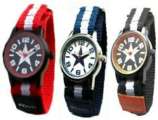 Childrens Kids Girls Boys Sports/Football Velcro Watches - Various Team Colours