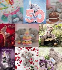 Me To You Tatty Teddy 3D Holographic Birthday and Occasion Cards