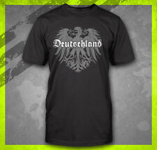 DEUTSCHLAND GERMAN FLAG CREST GERMANY EAGLE TEE SOCCER FOOTBALL FUNNY T-SHIRT