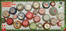New Christmas Holiday Cupcake Muffin Baking Liners You Choose Your Own Stack Lot