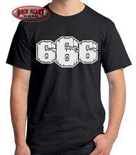 666 EVIL T SHIRT M-3XL SATANIC DEVIL DEATH SATAN GOTHIC DARK DESIGN