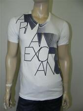 New Armani Exchange A|X Mens Slim/Muscle Fit Graphic V Neck Shirt