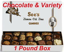 See's Candies Chocolate Variety Candy Nuts Chews Toffee-ettes Cashew Brittle