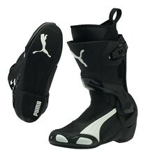 PUMA 1000 v3 racing motorcycle boots, black-white, BRAND NEW!