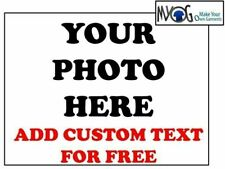 * CUSTOM IRON ON T SHIRT TRANSFER * ANY PHOTO & TEXT OF YOUR CHOICE   * LIGHT *