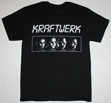 KRAFTWERK DEN ATELIER ELECTRONIC SYNTHPOP TECHNO MUSIC S-XXL NEW BLACK T-SHIRT